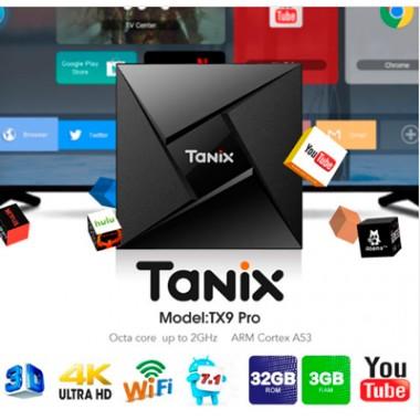 Tanix TX9 Pro  - тв приставка 3/32 Гб на Android 7.1.2