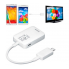 Переходник Micro USB - HDMI MHL для телефонов Samsung Galaxy Note 3 4 S3 S4 S5