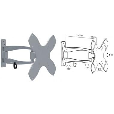 Кронштейн для ЖК телевизоров, LCD, LED и плазменных панелей BRATECK LDA03-222, VESA 200*200
