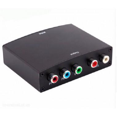 Переходник HDMI-RGB (компонент) + R/L аудио-выход