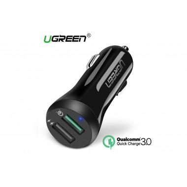 USB 3.0 автомобильное зарядное устройство Ugreen 5.4A 30W