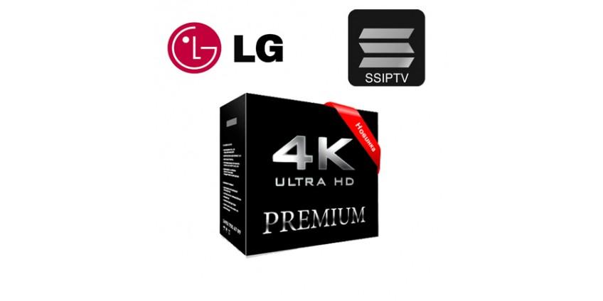 Просмотр IPTV плейлистов через приложение SS IPTV на телевизорах LG