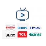 Просмотр IPTV на телевизорах Toshiba, Panasonic, Sony, Philips, Hisense, Skyworth, TCL, Sharp, Haier