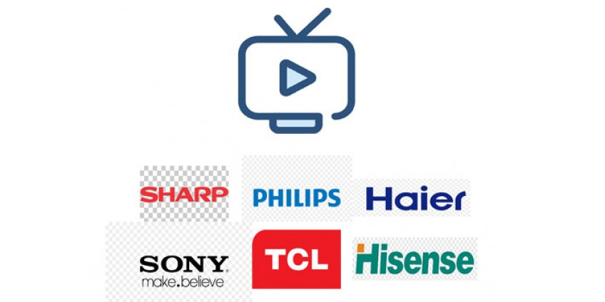 Просмотр IPTV на телевизорах Toshiba, Panasonic, Sony, Philips, Hisense, Skyworth, TCL, Sharp, Haier