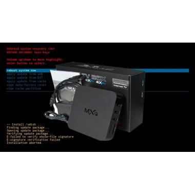 Прошивка для смарт приставки MXQ S805 (версия 1/8 ГБ) для установки через SD карту