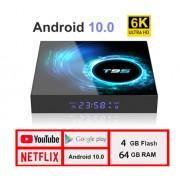 T95 MAX S - смарт приставка на Android 10.0 с памятью 4/64 Гб