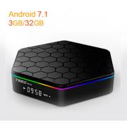 T95Z Plus - TV Box на  Android 7.1 процессоре Amlogic S912 с Wi-Fi и LAN портом и поддержкой IPTV