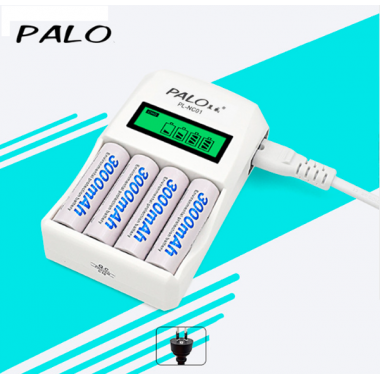 Зарядное устройство для аккумуляторов АА/ААА Palo