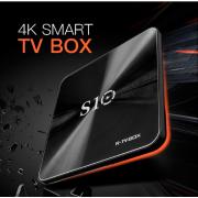 R-TV BOX S10 - смарт приставка на Android 7.1 с памятью 3/32 Гб на Amlogic S912
