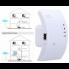 WR01 Портативный усилитель wifi сигнала 300Mbps 2.4 ГГц с большой зоной покрытия