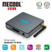 Mecool BB2 Pro - Android TV Box Amlogic S912 64 бит Octa Ядро 4 К,  память 3/16 Гб,  2.4 Г/5 Г Wi-Fi Bluetooth 4.0