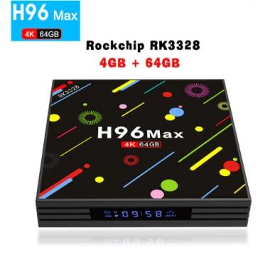 H96 MAX H2 - тв приставка на Android 7.1 с памятью 4/64 Гб