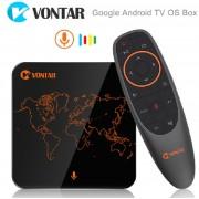 Vontar V1 - тв приставка на Android  7.1 с голосовым управлением , Amlogic s905w с памятью 2GB/ 16GB, Google Netflix YouTube