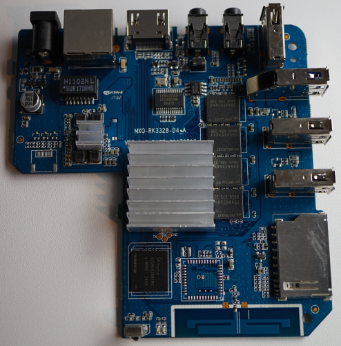 Прошивка для MX10 на процессоре Rockchip RK3328 и Android Oreo 8 1